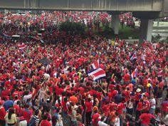 Celebración, San Pedro, San Jose, Costa Rica, Partido Costa Rica - Uruguay, Mundial Fútbol Brasil 2014