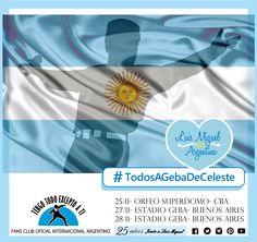 Luis Miguel -LLEGA A LA ARGENTINA con su - DEJAVUTOUR- 2015-  Tengo Todo Excepto a Ti, fans club oficial internacional Argentino-  Desde 1990 Junto a Luis Miguel Seguinos en todas nuestras redes sociales: FACEBOOK:  https://www.facebook.com/pages/Tengo-Todo-Excepto-A-Ti/595464773913653 TWITTER: @tengotodoclub - INSTAGRAM: @Tengotodocluboficial -