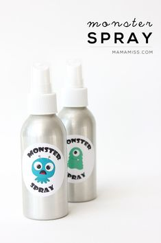 Today is the day to spray those silly little monsters away - make some MONSTER SPRAY today with this free printable and banish them for good! Dyi Crafts, Crafts For Kids, Monster Spray, Letters For Kids, Little Monsters, Craft Organization, Babysitting, Toddler Preschool, Holiday Crafts