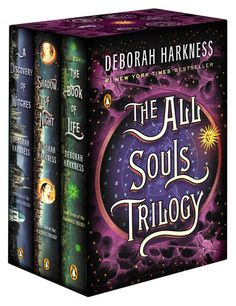 THE ALL SOULS TRILOGY BOXED SET by Deborah Harkness -- A Discovery of Witches, Shadow of Night, and The Book of Life, now available in a beautiful boxed set.