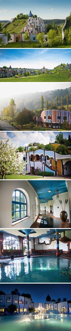 Friedensreich Hundertwasser - The Rogner Bad Blumau Spa-hotel in Austria