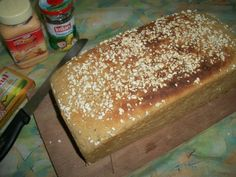 YUMMY TUMMY: A Huge Loaf of Whole Wheat Bread ( No Maida )