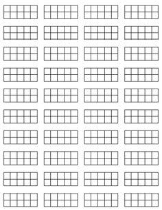 ten frames for math journal