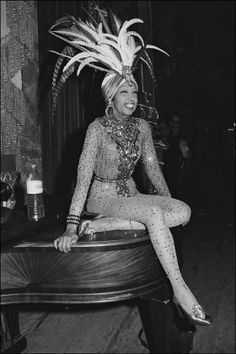 Josephine Baker Style Fashion | See More Andy Warhol Battle of Versailles books Andy Warhol,Battle of ...