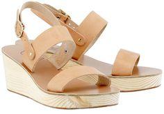 Clio Clog Sandals by Ancient-Greek-Sandals.com