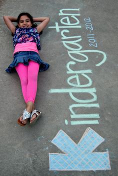 Such a cute idea for a beginning of the year pic!