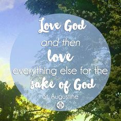 """""""Love God and then love everything else for the sake of God."""" - St. Augustine Like Abraham, are we willing to give up what we love most in the world? Our entire spiritual life will follow from how we answer this question.  #Magnificat #robertbarronreflections #sundayblessings #mysaintmyhero"""