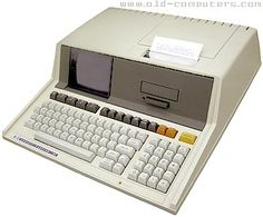 """The Hewlett Packard HP-85 was a famous all-in-one computer which met a great worldwide success thanks to its high reliability and ease of use. It featured a 8 bit processor, 16 KB of RAM, a built-in 5"""" CRT display, tape drive, thermal printer and four I/O ports. The HP custom processor had 64 8-bit registers but no accumulators. Even slow, it offered outstanding performances in math calculations."""