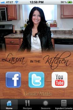 Laura in the Kitchen  By Vitale Productions, LLC  View More By This Developer