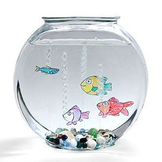 Make Floating Faux Fish: Create a tropical fishbowl full of finny friends that don't need food, filters, or fussy temperature controls.