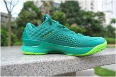 Under Armour Curry One Low Golf Scratch Green Men Shoes