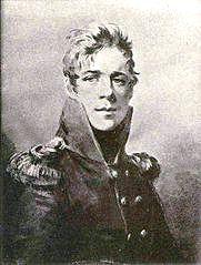 Князь Дмитрий Николаевич Голицин(1786-1812) - сын князя Николая Алексеевича Голицына (1751-1809) и Марии Адамовны Олсуфьевой (1757—1821).