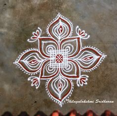Rangoli and Art Works: PADI KOLAM