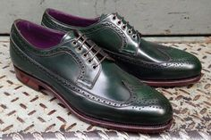 Carmina green shell cordovan longwing