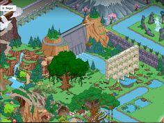 cascata - diga - ufficio jet market - albero scivolo - caverna - acquedotto - monte fuji - pagani