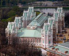 Tsaritsyno Palace, Moscow, Russia
