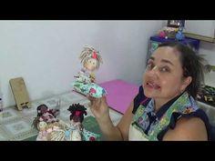 Alfiletero de muñeca-tutorial - YouTube Needle Book, Book Crafts, Pin Cushions, Kit, Make It Yourself, Sewing, Sonia Franco, Pasta Flexible, Couture