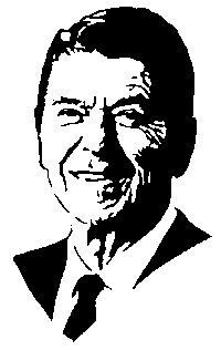 Ronald Reagan Crochet Graphghan Pattern (Chart/Graph AND Row-by-Row Written Instructions)