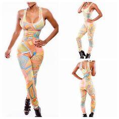 Sexy Women Bodycon Bandage sleeve Slim Cocktail Party Dress Clubwear Jumpsuit #partydressesclubwear