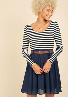 Department Director Long Sleeve Dress in S, #ModCloth