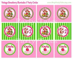 INSTANT Download STRAWBERRY SHORTCAKE doll by ShopPartyTales