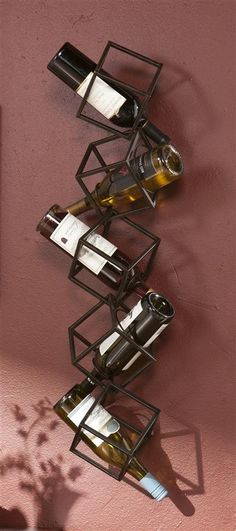 Holly & Martin Vallejo Wall Mount Wine Storage Unit