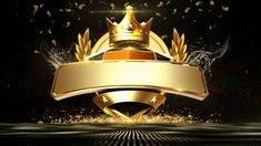 Black golden crown award ceremony background ma M Lterial annual meeting,fashion atmosphere,awards Crown Background, Simple Background Images, Team Logo Design, App Design, Banner Design, Glitter Texture, Conception D'applications, Award Poster, Schrift Design