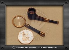 Pipe and Magnifying Glass