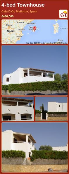 4-bed Townhouse in Cala D'Or, Mallorca, Spain ►€480,000 #PropertyForSaleInSpain