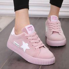 Weweya Fashion Women Vulcanize Shoes Casual Shoes Woman Canvas Platform  Ladies Shoes Sneakers Zapatos Tenis Feminino Size 35-43 48317f4f470ff