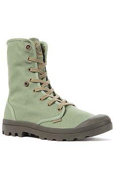 Palladium Boot Baggy in Otan & Army Green - Karmaloop.com