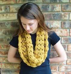 holy cowl easy knit cowl