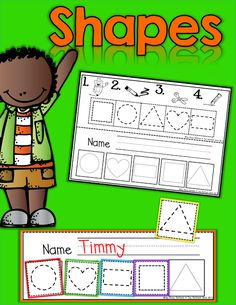 Shapes (from The Moffatt Girls) Teaching Shapes, Teaching Skills, Teaching Math, Preschool Math, Preschool Kindergarten, Preschool Shapes, Math Classroom, Classroom Activities, Fun Learning