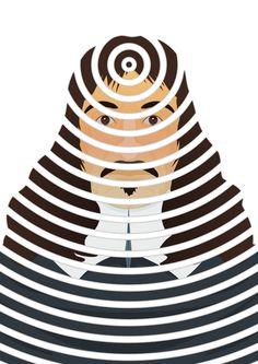 Portrait - Descartes - Cogito ergo sum, Piotr Tarnman on ArtStation at https://www.artstation.com/artwork/OQaXJ #filozofia #philosophy #filozof #philosopher #cogitoergosum #dualism #tarnman #thinker