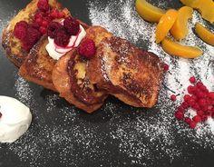 Αυγοφέτες με μέλι (french toast)