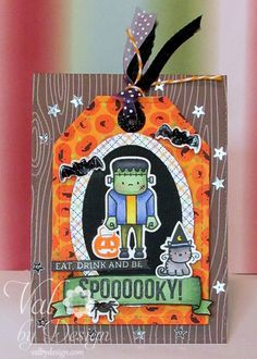 Halloween Cards and Paper Crafting on Pinterest | 296 Pins