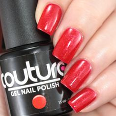 "#104 ""Red Carpet"" #gelnailpolish  #couturegelnailpolish #soakoff #soakoffgel #mani #manicure #nailporn"
