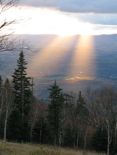 from Burke Mountain Vermont