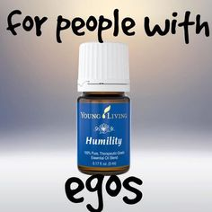 For people with egos. #essentialoils