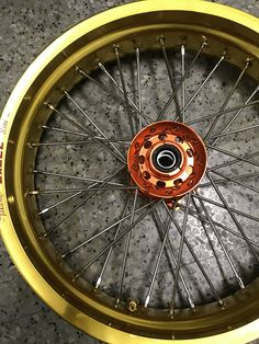 30 Best CRF wheel w/ Newson Sportec spokes and nipples