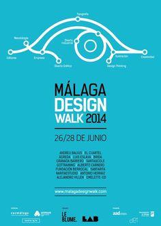 Málaga Design Walk es un evento sobre diseño gráfico e industrial dirigido a empresas, diseñadores, estudiantes, emprendedores, apasionados de la creatividad y personas del ámbito empresarial, la innovación y las industrias creativas.Las jornadas, organizadas por el estudio de diseño industrial y gráfico Leblume, y el colectivo interdisciplinar LAB, congregarán del 26 al 28 de Junioa …