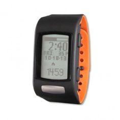 SmartHealth LifeTrak C200 (Black Case with Black/Orange Band)