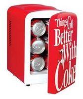 Unique Gift Idea - Coca Cola Personal Fridge. Air Bear