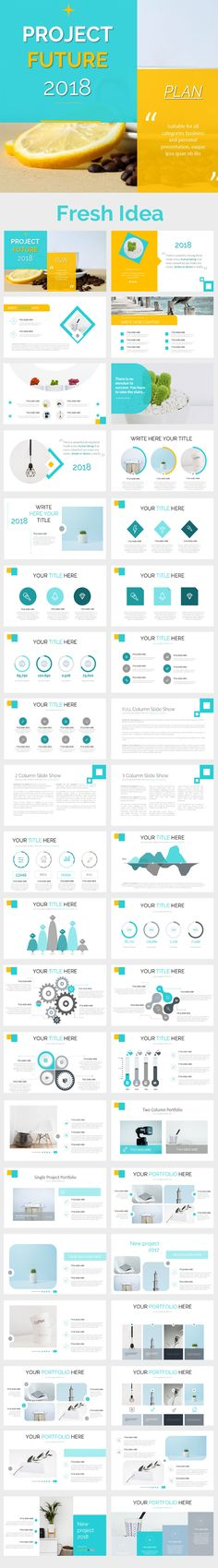 Project 2018 Powerpoint Presentation Template - PowerPoint Templates Presentation Templates