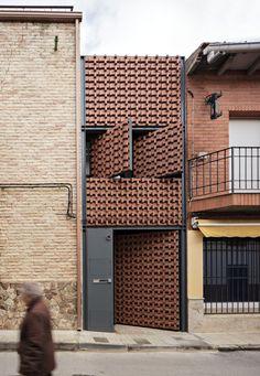 alzado (casa en piedrabuena, muka arquitectura) | cajón (de sastre) de arquitecto