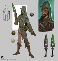 Thief concept Knightly Knockout, Carlos Nuñez Ruiz on ArtStation at https://www.artstation.com/artwork/KEBX4