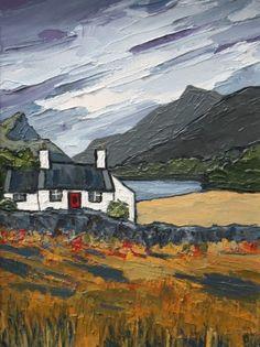 British Artist David BARNES-By Quellyn