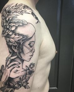 Susanna Widmann is a talented tattoo artist and illustrator, she works at Scratchline Tattoo in Kentish Town and specialises in illustrative and graphic styles. Please get in contact with the studio if you want to book a consultation with Susanna.