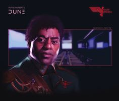 House Atreides: Duncan Idaho by Deimos-Remus (who apparently has cast Chiwetel Ejiofor in the fan-made role) #Dune