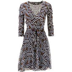 Diane Von Furstenberg Irina Dress ($475) ❤ liked on Polyvore featuring dresses, ribbon khaki, lining dress, diane von furstenberg dress, ribbon dress, khaki dress and lined dress